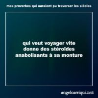 mes proverbes (2) ...
