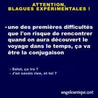 BLAGUES EXPÉRIMENTALES (8) ...
