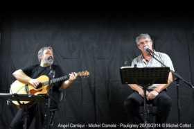 Angel Carriqui - Michel Comola - Pouligney 20/09/2014 © Michel Cottet