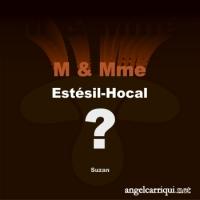 M & Mme Estésil-Hocal ...