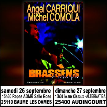prochains concerts 26 27 septembre