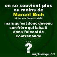 familles célèbres : Marcel Bich ? ...