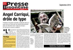 La Presse Bisontine - Septembre 2018
