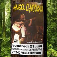 PROCHAIN CONCERT :  vendredi 21 juin vers 20h00 Le Paradis Vert 70240 VELLEMINFROY...