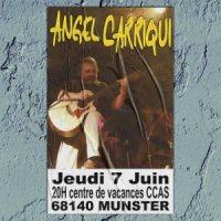 PROCHAIN CONCERT :  jeudi 7 juin à 20h00 CCAS 68140 MUNSTER...