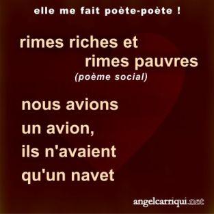 rimes riches